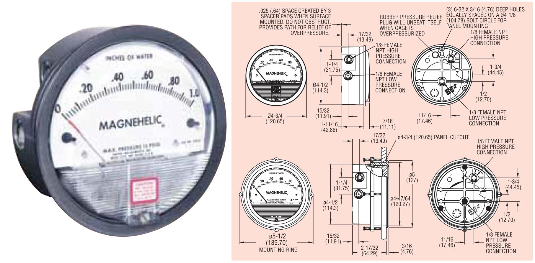 magnehelic gauge price